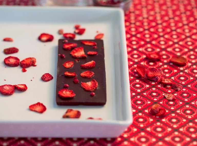 ChocQlate Erdbeer-Pfeffer