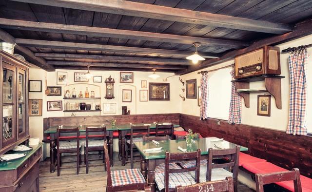 Gastraum in Zum Bürstenbinder