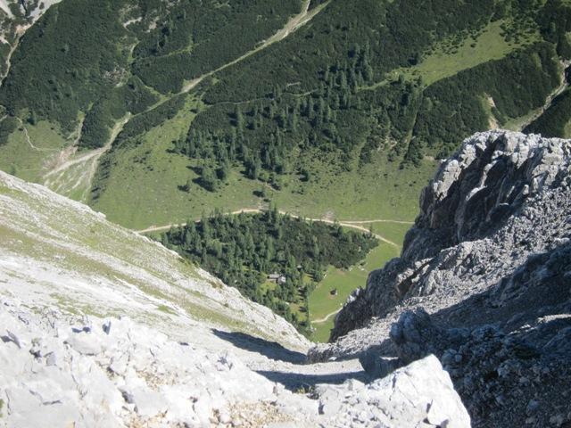 Auf dem Weg zur Speckkarspitze