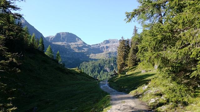Bergwelt kurz vor dem Duisitzkarsee