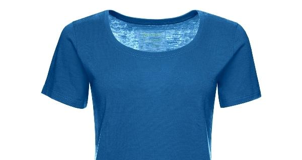 Kaipara Merino Shirt Damen regular karibik