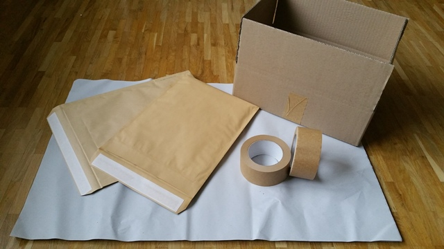 Nachhaltige Versandmaterialien von Kaipara - Merino Sportswear