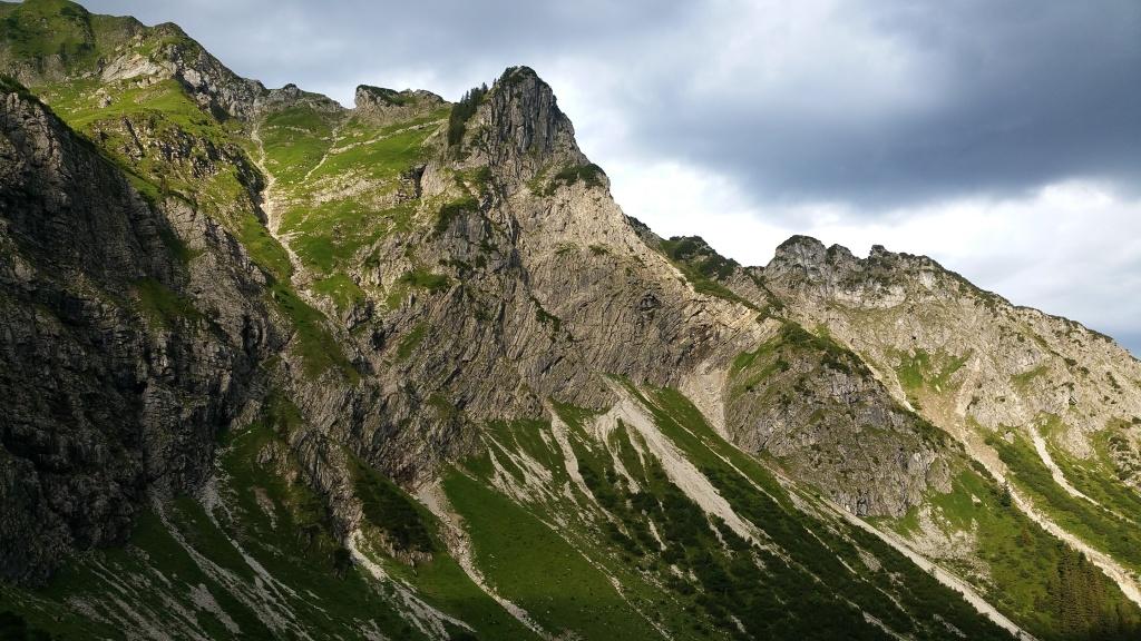 Aufstieg von Hinterstein zum Schrecksee