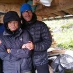 Schutz bei der Sennerin beim Schrecksee während eines Gewitters