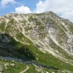 Auf dem Jubiläumsweg mit Blick auf das Gaishorn