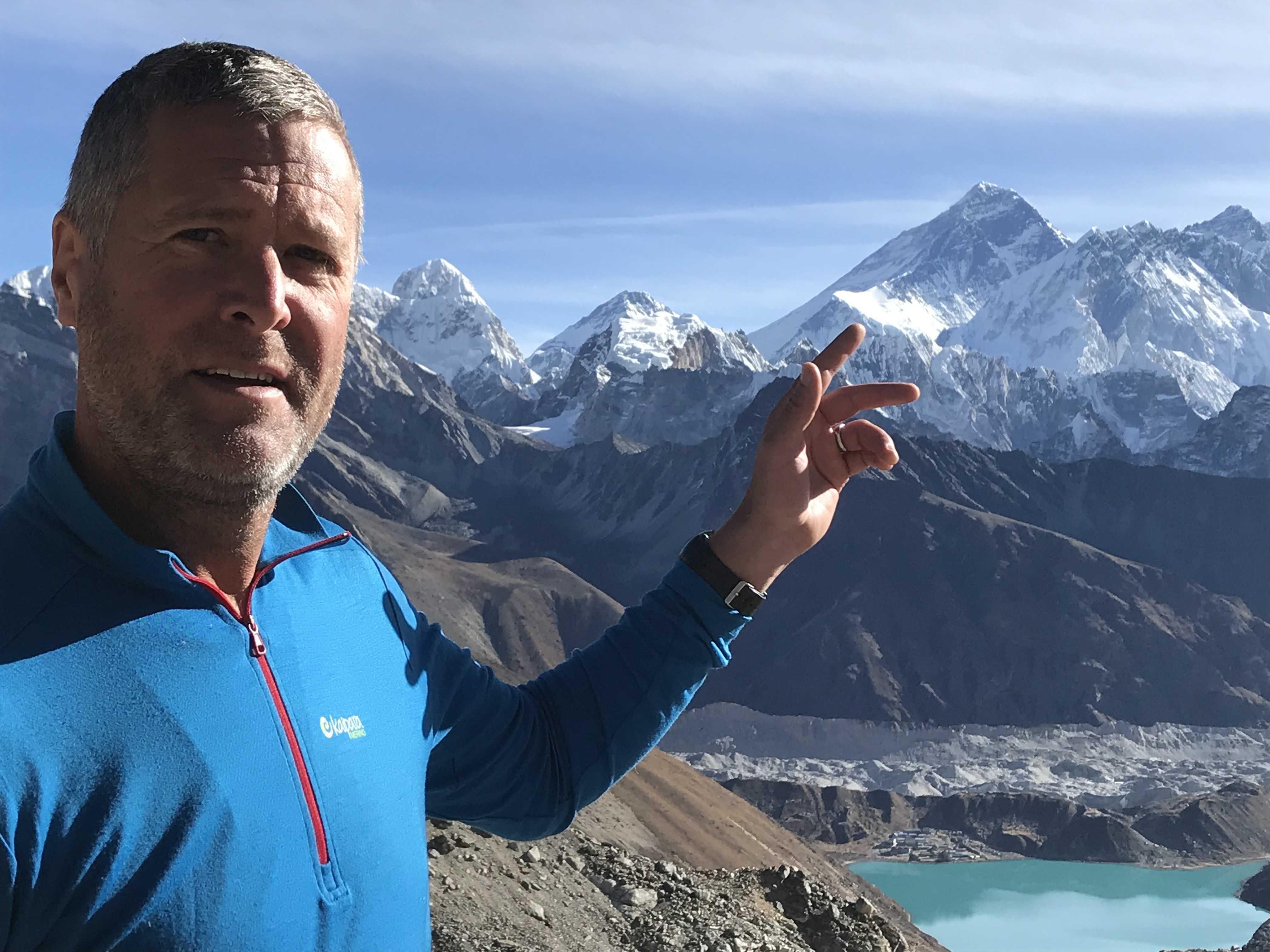 Island Peak 6189 m - der beliebteste Sechstausender im Everestgebiet