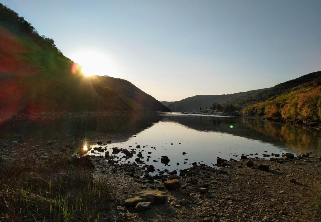 Sonnenuntergang am Limski Kanal