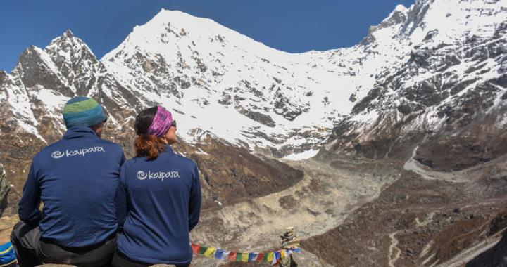 Im Himalaja - immer wieder nur staunen!