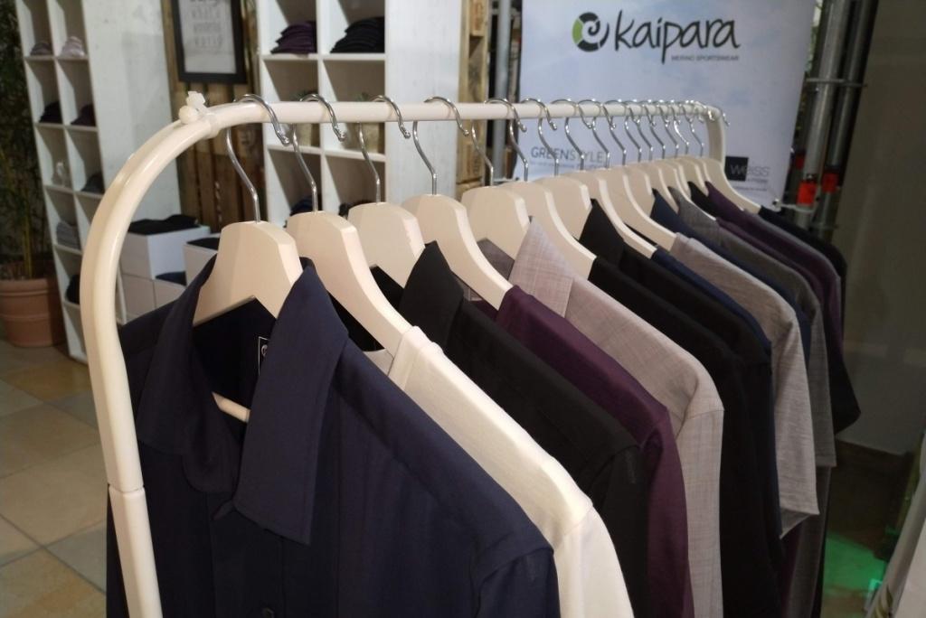 Merino Herrenhemd Kaipara Greenstyle Munich