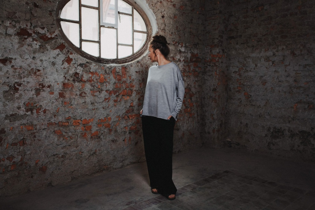 URBAN LIMITED Merino-Shirt für Damen