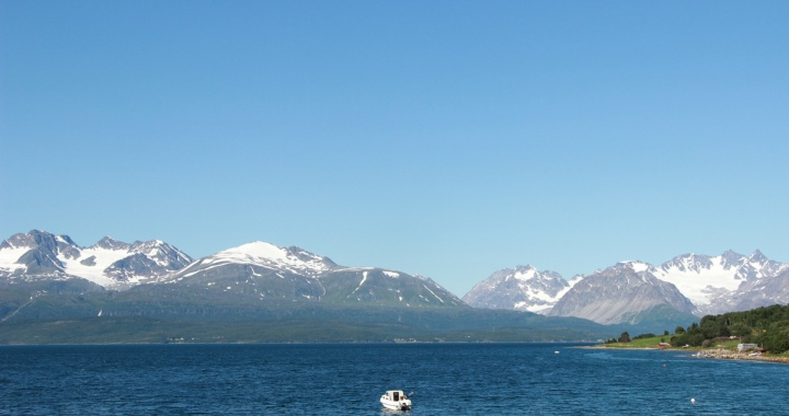 Panorama satt: Lyngenalpen